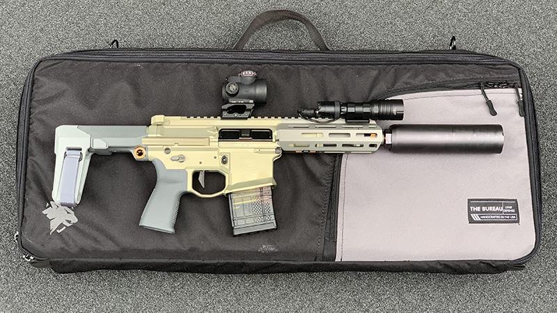 Honey Badger Pistol Lynx Defense Bureau ModLite Right