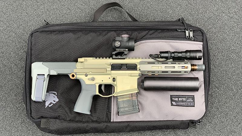 Honey Badger Pistol Lynx Defense Byte ModLite Right