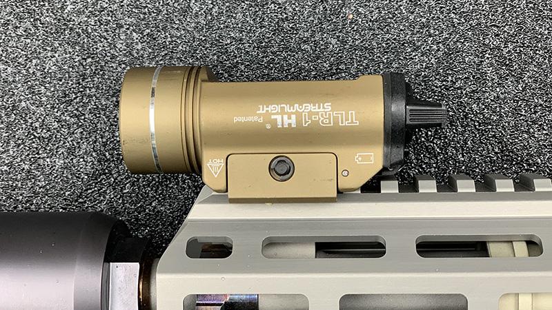 Honey Badger Pistol Streamlight TLR1