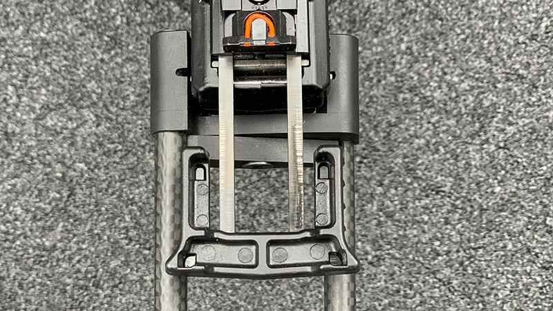 Kel Tec CP33 charging Handle Back