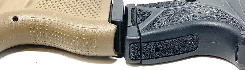Glock 42 vs LCP2 Backstrap