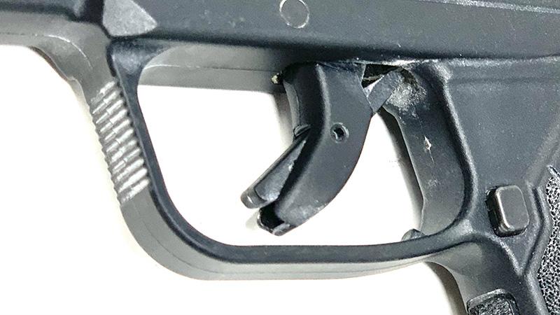 Glock 42 vs LCP2 trigger