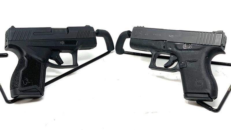 Glock 43 vs Taurus GX4 Facing
