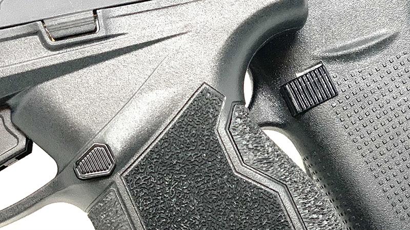 Glock 43 vs Taurus GX4 Magazine Release