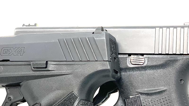 Glock 43 vs Taurus GX4 Slide Stop