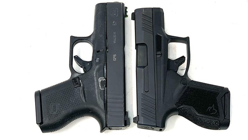 Glock 43 vs Taurus GX4 T