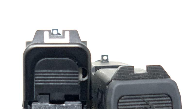 Glock 43x vs Taurus GX4 G43x Sights