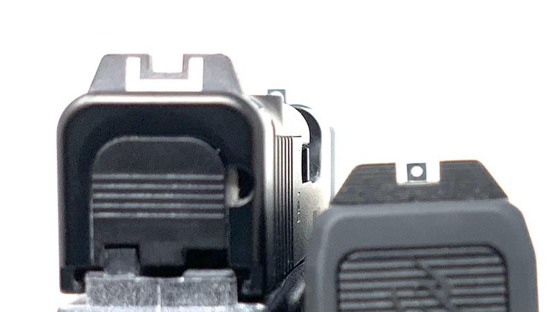Glock 43x vs Taurus GX4 Sights