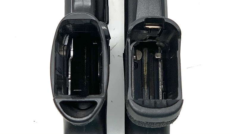 SW Shield Plus vs Taurus GX4 Magwells