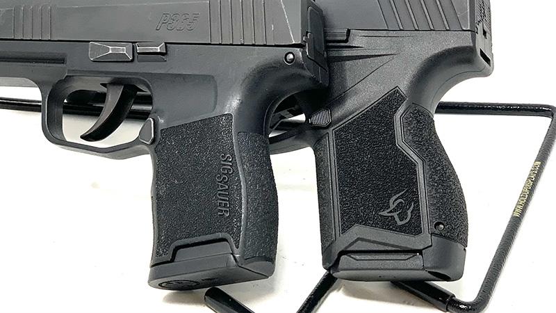 Sig P365 vs Taurus GX4 Grips
