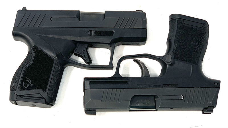 Sig P365 vs Taurus GX4 Square