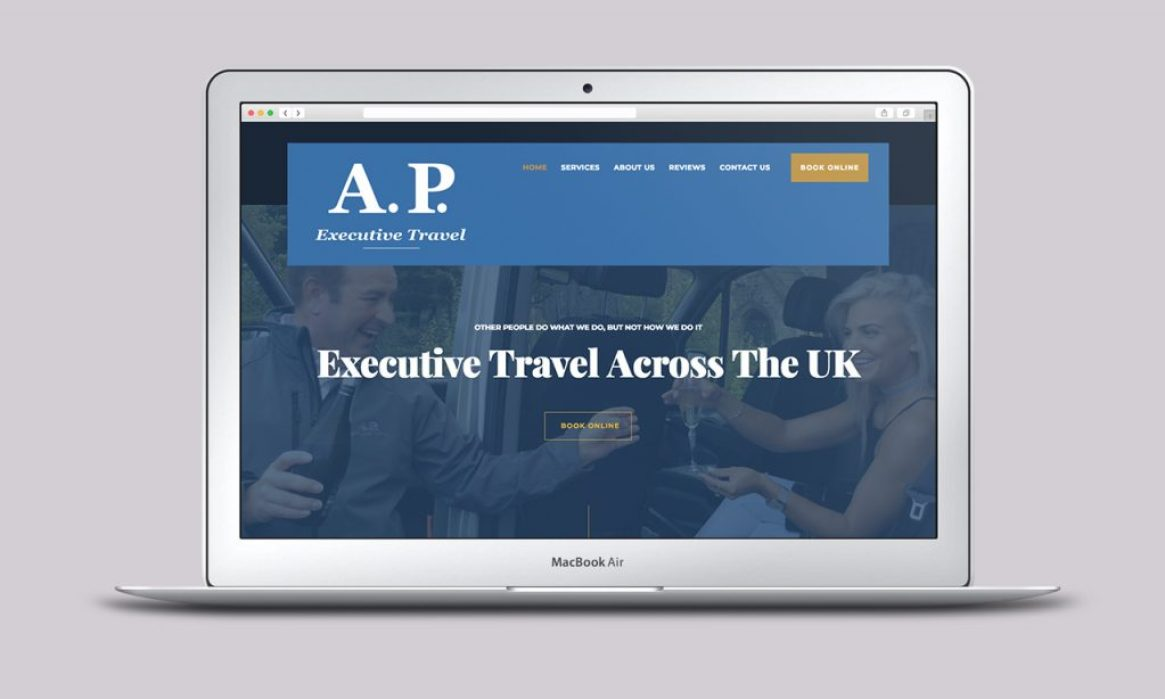 Taxi Website - Home - Designed by Harry Vann