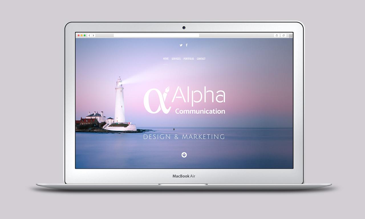 Alpha Communication - Website