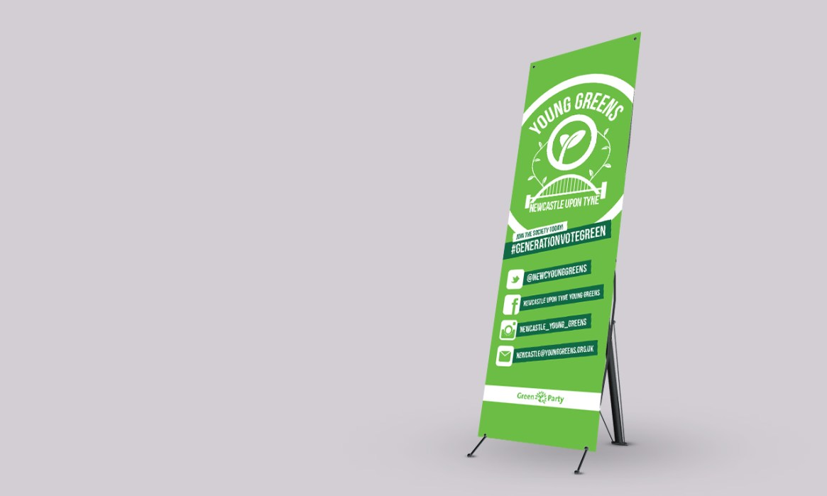 Young Greens Newcastle branding design