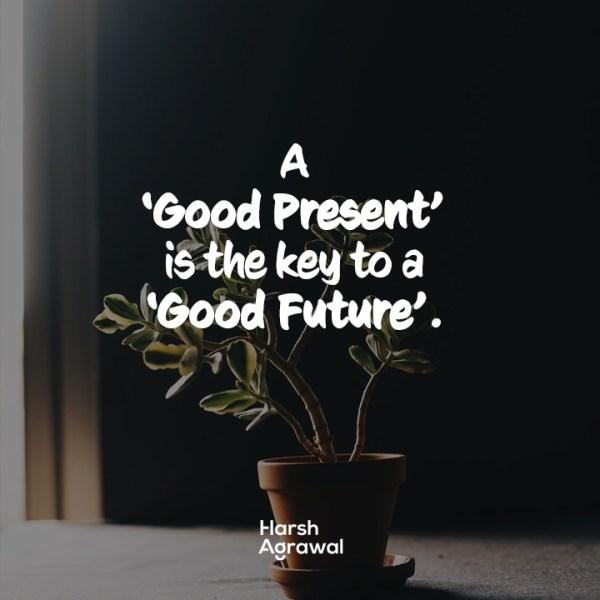 Present-future quote