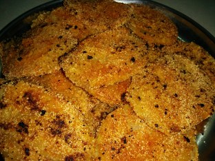 Batate phodi -Potato rava fry