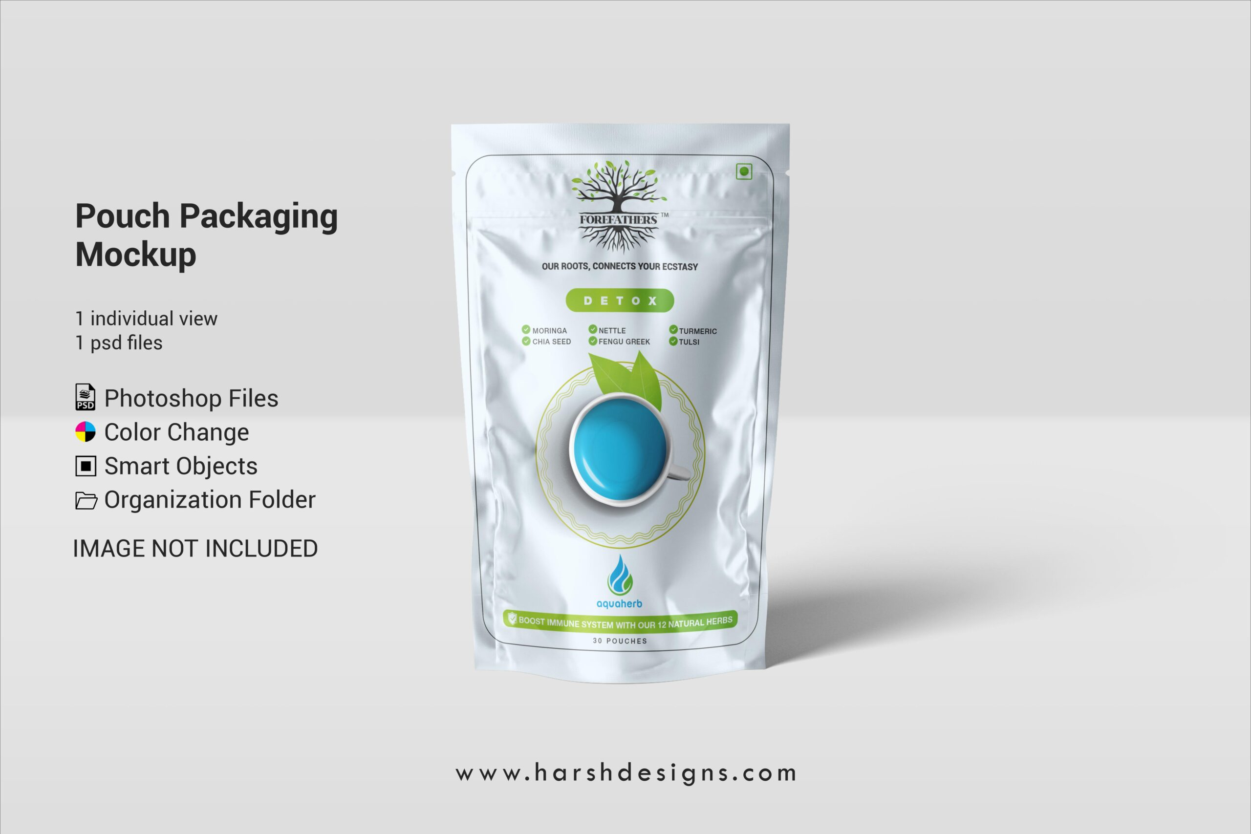 Harsh Designs Pouch Packaging PSD Mockup Packaging Branding Mockups 2 scaled