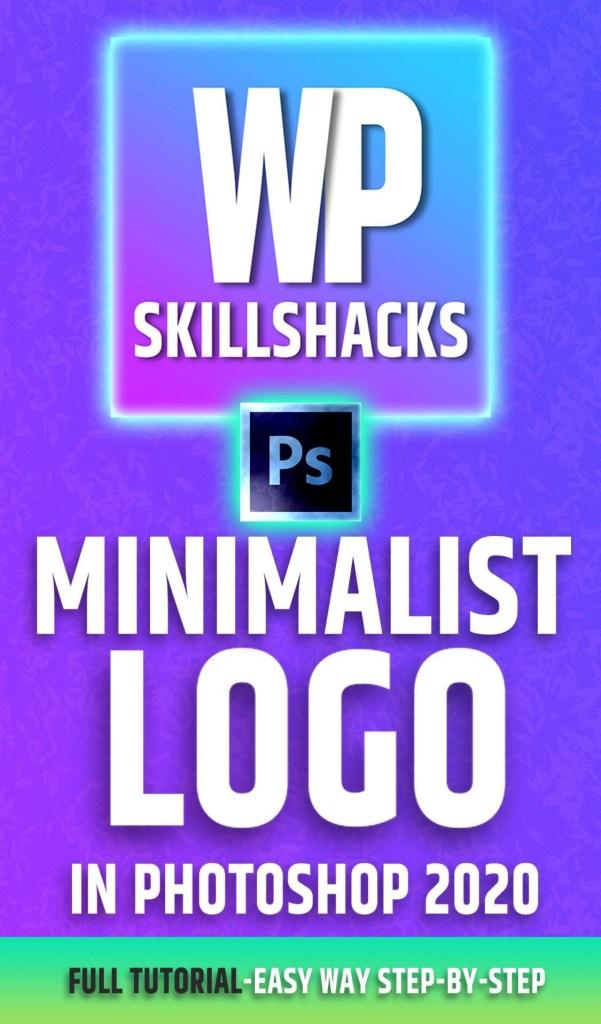 Minimalist Logo Photoshop