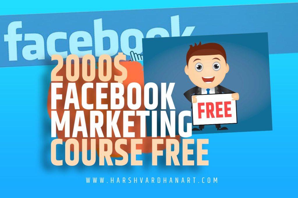 premium facebook marketing course free