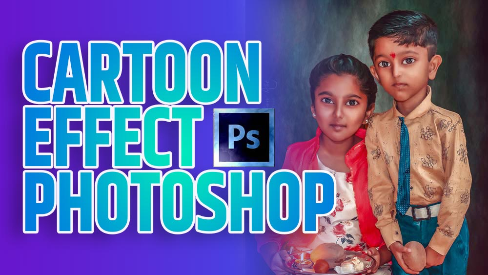 cartoon effect photoshop