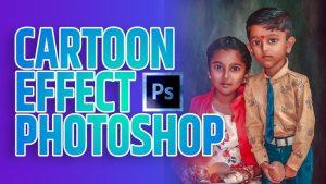 cartoon effect photoshop