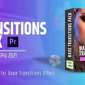 Wave Transitions Pack For Premiere Pro 2021