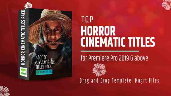 Horror Cinematic Titles Pack for Premiere Pro 1