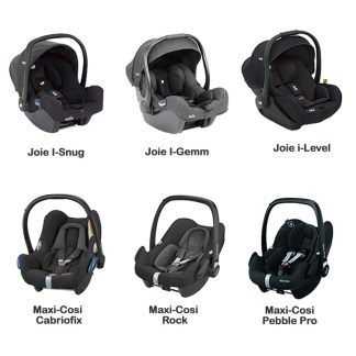 Various car seat options
