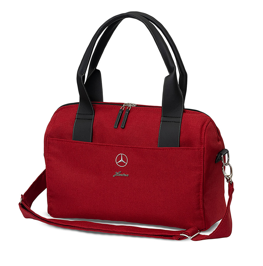 Hartan Mercedes-Benz nappy changing bag in Hyacinth