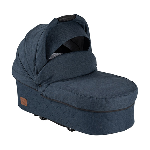 two select carrycot grey blue