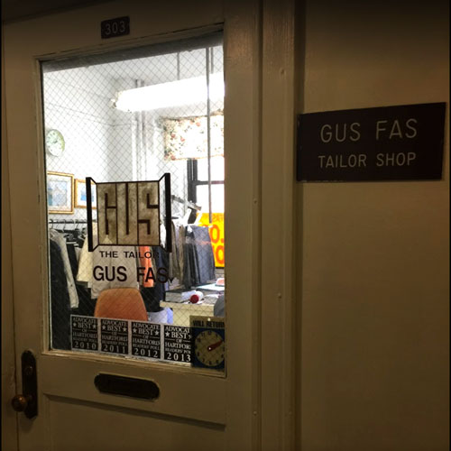 Gus Fas Tailor Shop Hartford, CT