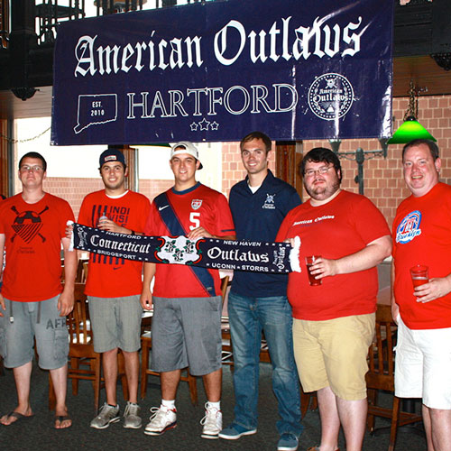 American Outlaws Hartford, CT