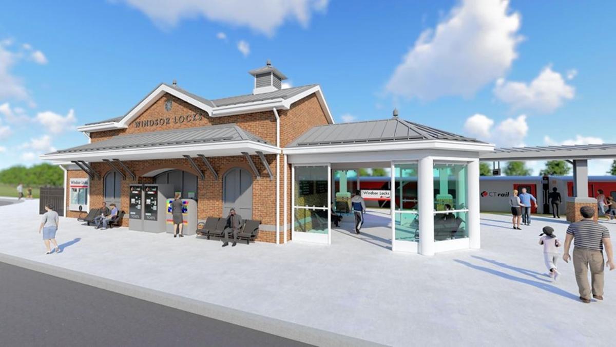 Windsor Locks Train Station