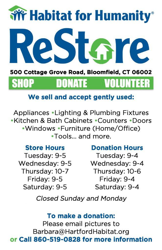 Restore Hartford Area Habitat For Humanity