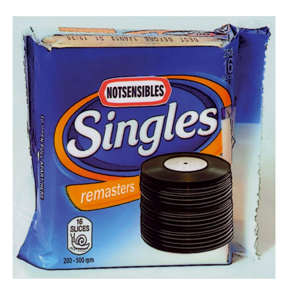 NOTSENSIBLES - Singles Front Cover - From Eli Records