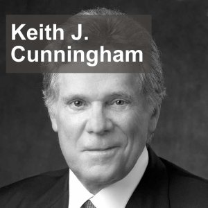 Keith J Cunningham, author Keys to the Vault