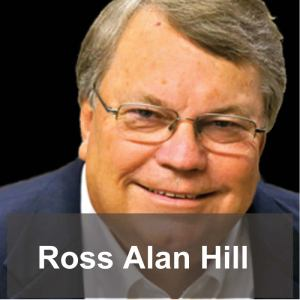 Ross Alan Hill, author of Broken Pieces - Nothing is Wasted