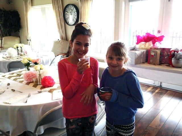cute cousins help get ready