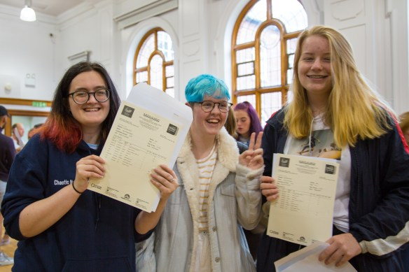 GCSE Results Day - 2019-18