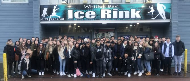 6th Form - Ice Skating - 2019