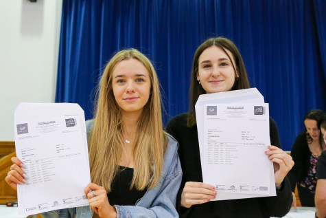 GCSE Results Day 2021_--9