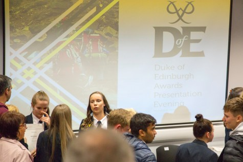DofE Bronze Presentation Evening 2018 -20