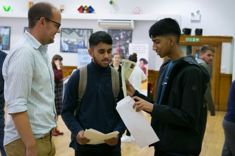 A levels Results 2018-217