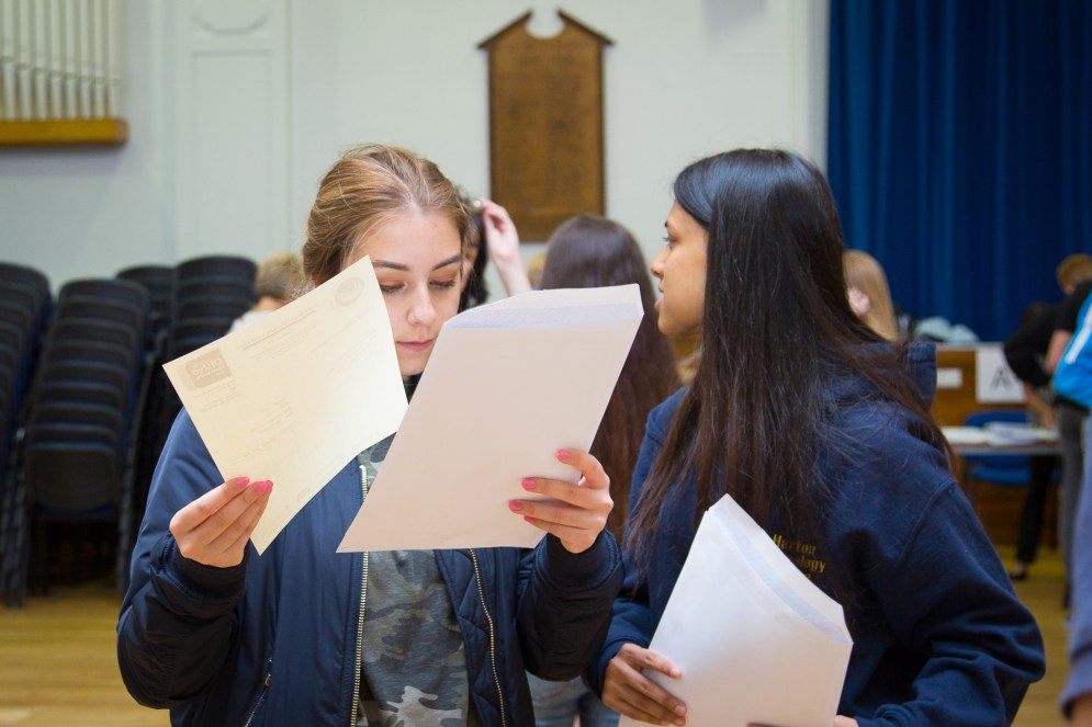 GCSE Results Day 2017 - -36