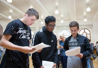 GCSE Results Day 2017 - -52