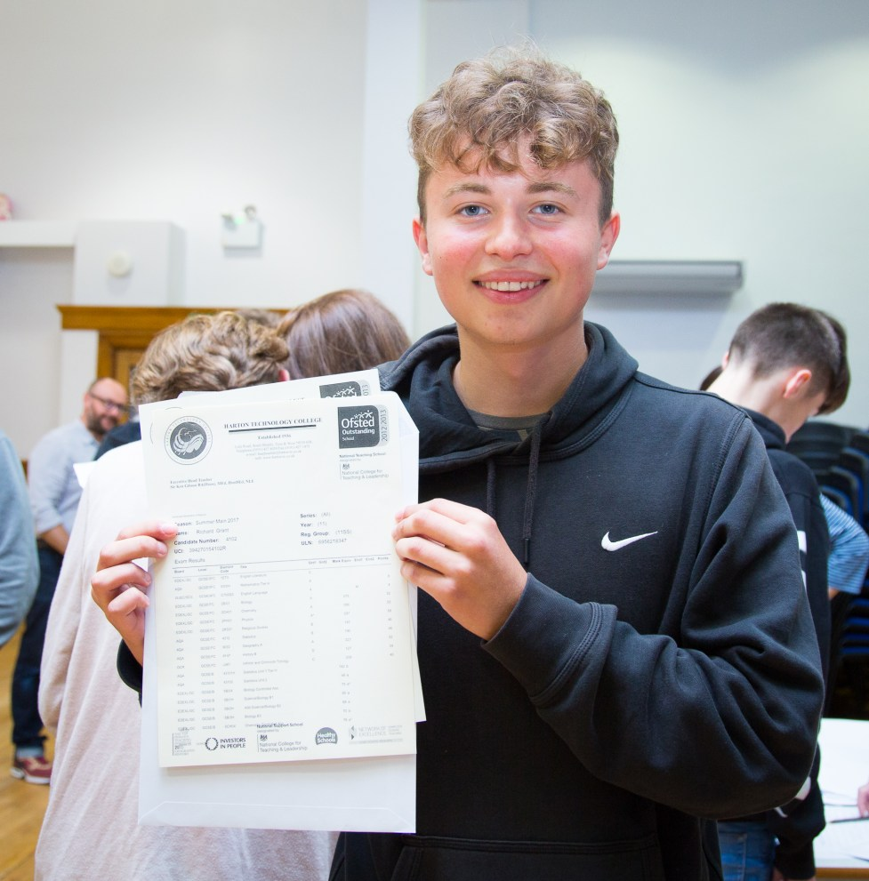 GCSE Results Day 2017 - -55