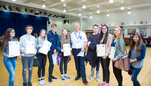 GCSE Results Day 2017 - -74