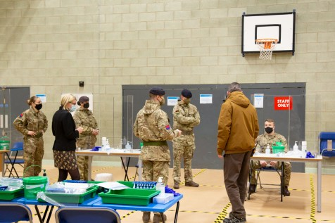 Mass Testing setup with Army-6
