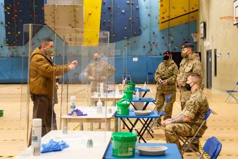 Mass Testing setup with Army-10