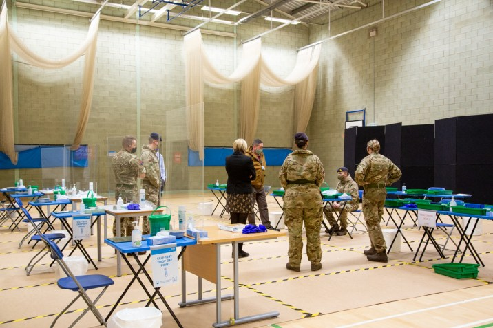 Mass Testing setup with Army-15